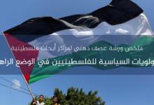 Photo of الأولويات السياسية للفلسطينيين في الوضع الراهن